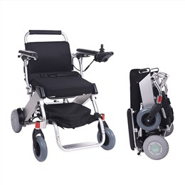 Lightest Portable Foldaway Electric Powered Wheelchair